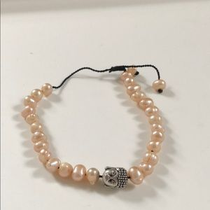 Jewelry - Handmade Adjustable Buddha Pearl Bracelet